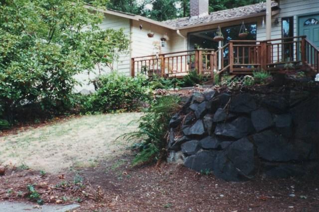 Front yard, circa 2002