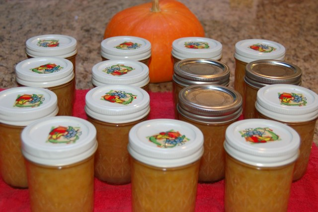 Spiced golden plum jam