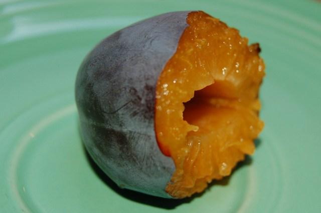 Ripe Italian prune