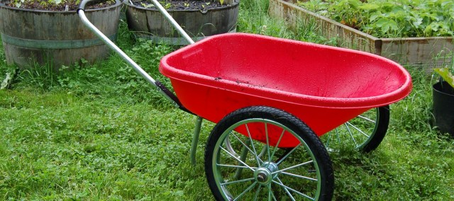 Wheelbarrow from Gardener's Supply