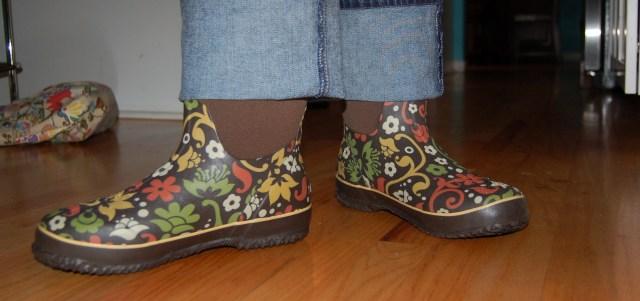 New garden boots