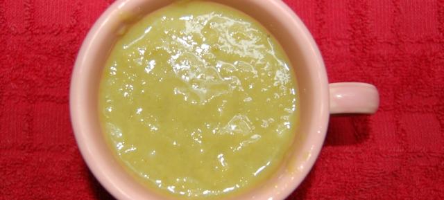 Asparagus stump soup