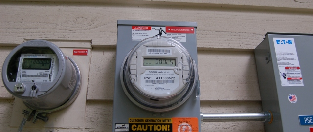 Solar and electrical meters
