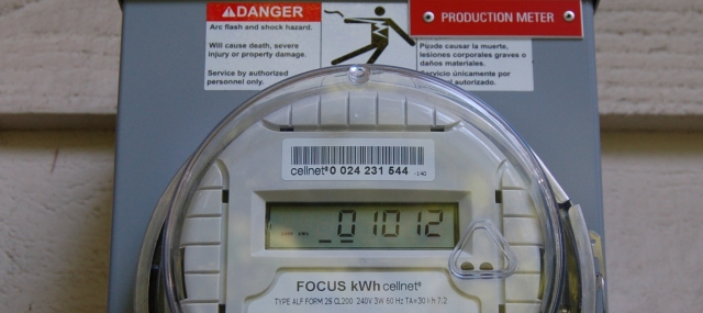 Meter reading on day 37 of production