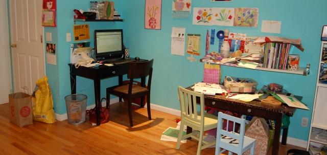 Family room, pre-purge